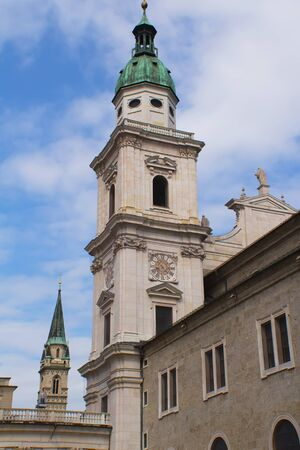 Salzburg - Tower of Cathedral  Austria, Europe  photo