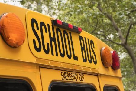 記号でスクールバスの黄色