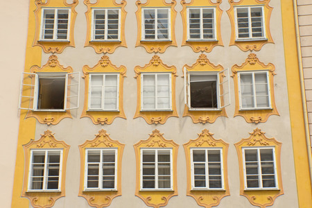 amadeus mozart: Birthplace of Wolfgang Amadeus Mozart (Salzburg, Austria). Horizontally.