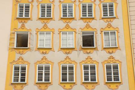 amadeus mozart: Lugar de nacimiento de Wolfgang Amadeus Mozart (Salzburgo, Austria). Horizontalmente.
