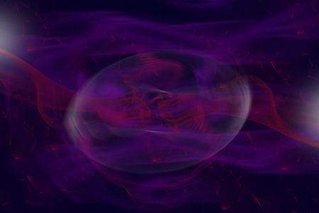conceiving: Delicate purple background composed of colored unfocused objects, smoke and lights with rotate nebular in the middle.