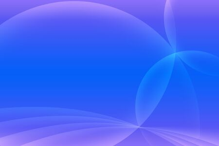 arcs: Abstract blue and light puple background. Intersecting arcs background. Stock Photo