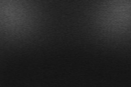 ブラシをかけられた金属黒地のパターン。控えめな光は、上の左側と右側の画像です。 写真素材
