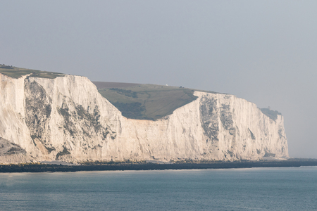dover: White Cliffs of Dover in the early morning light