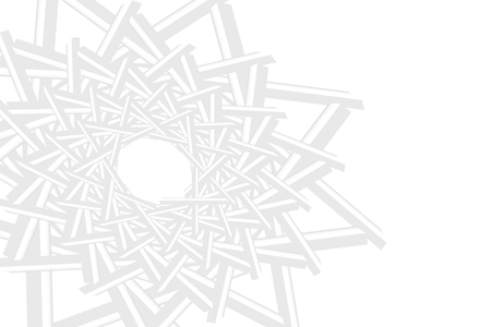 Abstract of white pattern space forming a multiple star in the left part of the vector. The right part is the place for your text.. Can be used as a template, banner, background, etc.