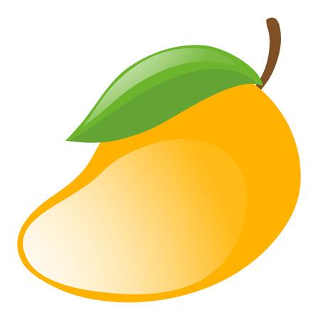 Clip art images of mango
