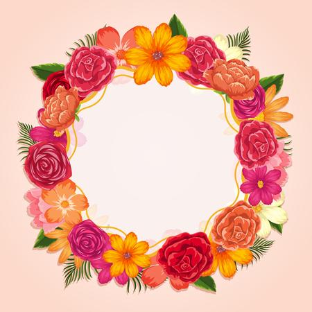 plantilla de tarjeta de feliz aniversario con las rosas rojo