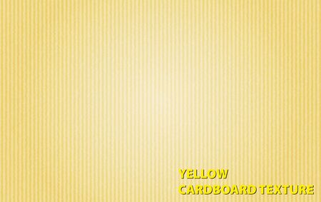 businesscard: Background template with yellow cardboard texture illustration