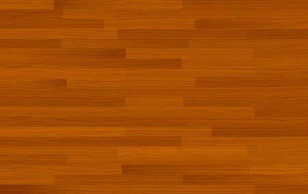 plywood: Dark brown wooden background template illustration