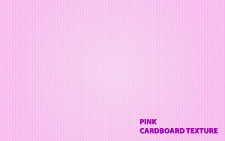 businesscard: Background template with pink cardboarad texture illustration Illustration