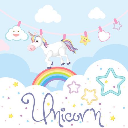 Unicorn image illustration