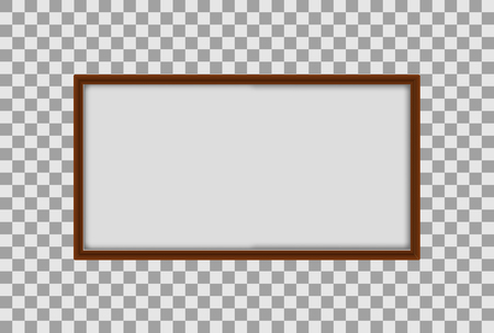 A Whiteboard on Transparent Background illustration