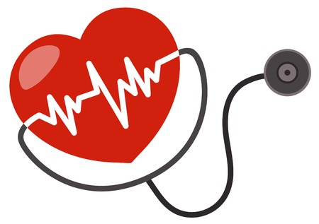 An Icon of Healthy Heart illustration 矢量图像