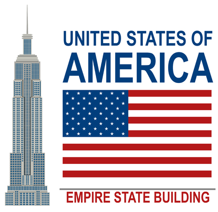 American Empire State Building  illustration