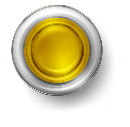 A small cup of olive oil illustration