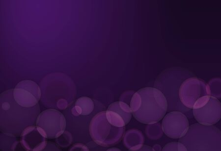 Background template with purple bubbles illustration
