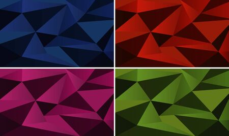 Background template with abstract patterns illustration