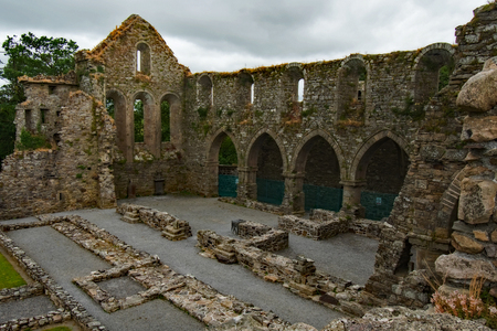 Jerpoint Abbey Central Ireland Stock Photo