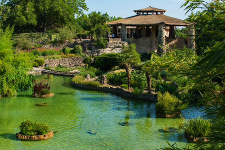 Japanese Garden Overlook Texas