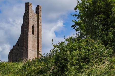 Trim Castle Ruins Stock Photo