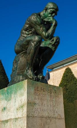 The Thinker Paris France