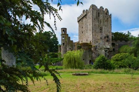 Das berühmte Blarney Castle Standard-Bild