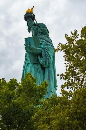 The Statue of Liberty Back View Banco de Imagens