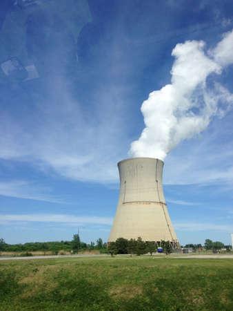 central el�ctrica: Central el?ctrica Foto de archivo