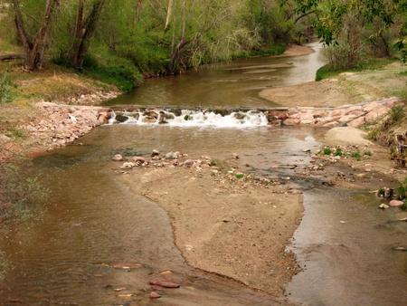 Fountain Creek Stock Photo