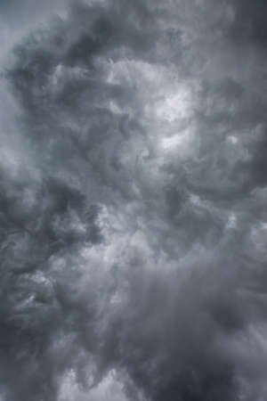 billow: Storm Clouds Stock Photo