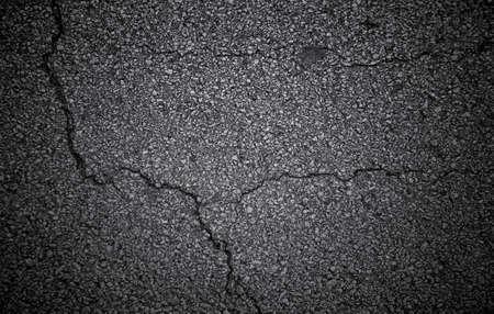 grey backgrounds: Grunge Cracked Pavement Stock Photo