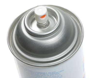 aerosol can: Aerosol Can Isolated on White Stock Photo