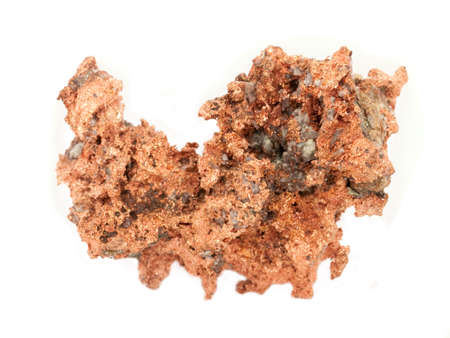 Copper Ore Isolated Stok Fotoğraf