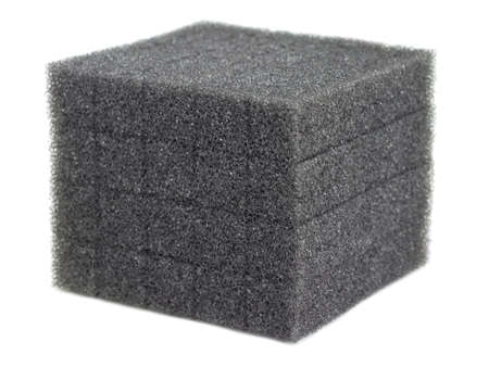 Foam Cube Isolated