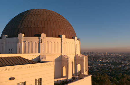 Griffith Observatory Over LA