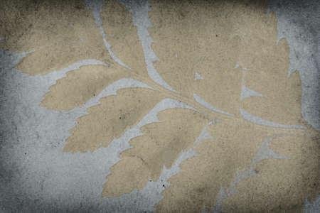 Grunge Gold Leaf Imprint