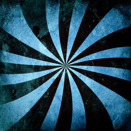 Grunge Swirl Sunburst Stok Fotoğraf