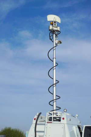 airwaves: TV News Antenna