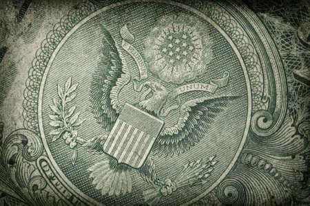 Grunge US Dollar Detail photo