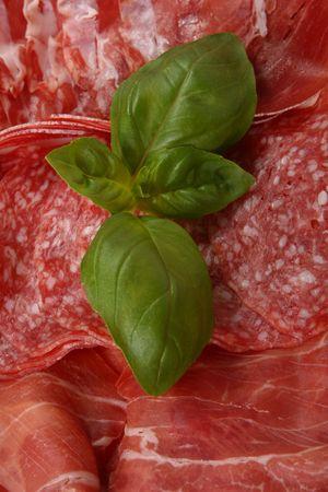 antipasto: Selection of Italian antipasto. Stock Photo