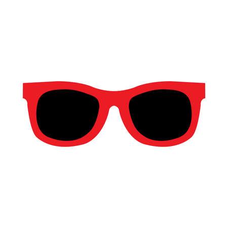 Sunglasses Vector Icon Çizim