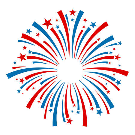 excite: Fireworks Vector Icon