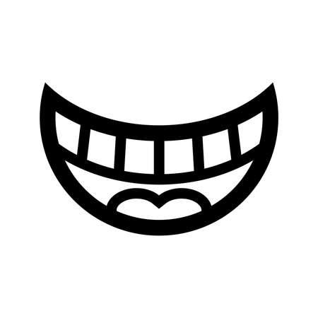 referral: Smile Vector Icon