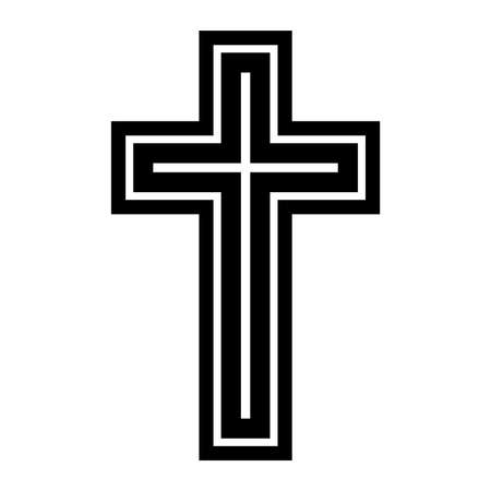 Christian Cross 矢量图像