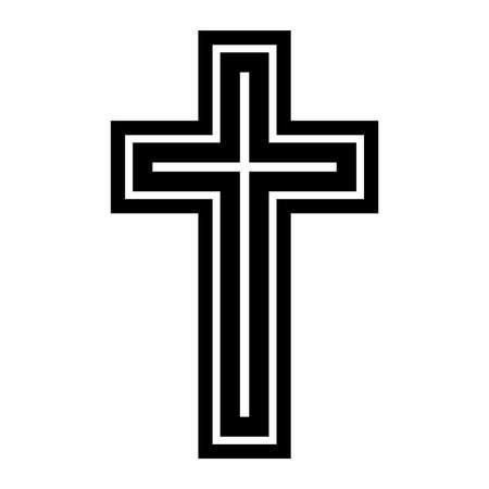 Christian Cross Illustration