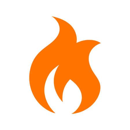 llamas de fuego: Llama Icono vectorial