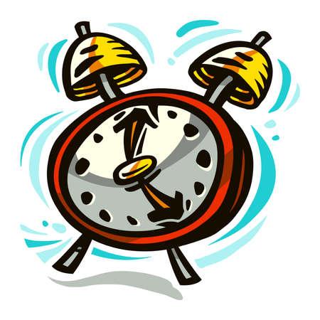 Alarmklok Stock Illustratie