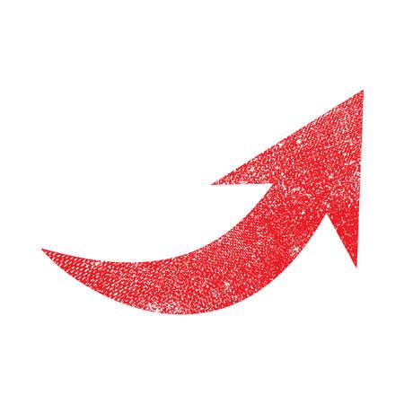 curve: Arrow vector icon