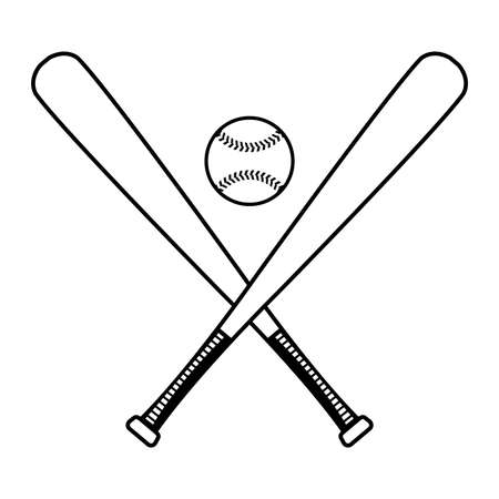 Mazza da baseball Vector Icon Archivio Fotografico - 49534892