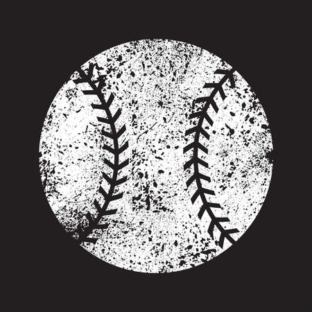 fast pitch: Baseball Vector Icon